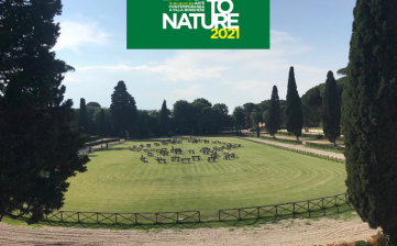 "ARTECARGO for ""Terzo Paradiso"" of Michelangelo Pistoletto – BACK TO NATURE 2021"