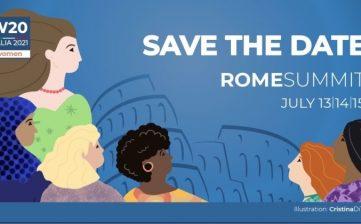 Rome 13-15 july 2021 – Italia Cargo at W20 – 2021 Women 20 Summit