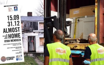 ITALIA CARGO moved Rosa Parks' House from New York to Napoli, 27.08.2020
